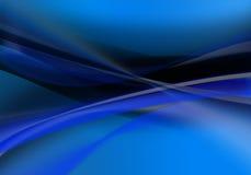 Ondes bleues Photo stock