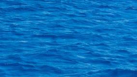 Ondes bleues de mer Image libre de droits
