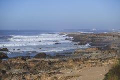 Ondes chez l'Océan Atlantique Image libre de droits