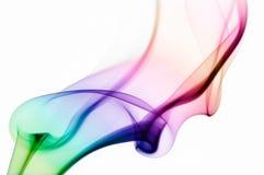Ondes colorées abstraites. Image libre de droits