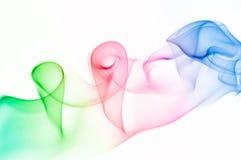 Ondes colorées abstraites. Photo libre de droits