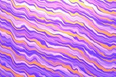 Ondes colorées Fond stylisé Beau fond abstrait illustration de vecteur