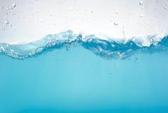 Ondes d'eau d'isolement Photos libres de droits