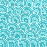 Ondes d'océan illustration stock