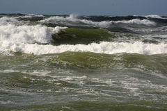 Ondes d'océan Photos stock
