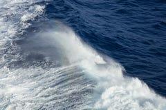 Ondes d'océan bleues Image stock