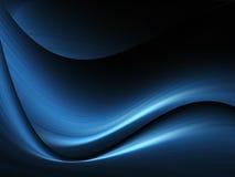 ondes de bleu de fond Photos libres de droits