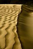 Ondes de déserts Photo stock