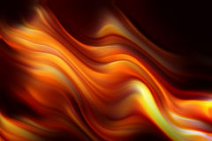 Ondes de flamme Photos stock