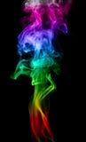 ondes de fumée Photos libres de droits