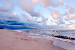 Ondes de mer. Photographie stock