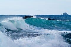 Ondes de mer Images libres de droits