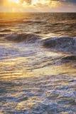 Ondes de mer Photos libres de droits