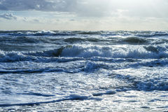Ondes de mer Photographie stock