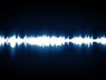 ondes de musique moderne de graphique illustration de vecteur