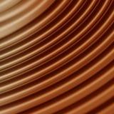 Ondes de rêve de chocolat Photo stock