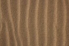 Ondes de sable de vent de côte de texture de fond Image libre de droits