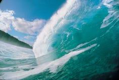 Ondes en mer Image libre de droits