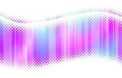 Ondes multicolores abstraites d'image tramée Images stock
