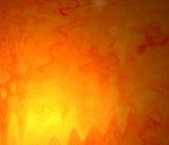 Ondes oranges Photographie stock libre de droits
