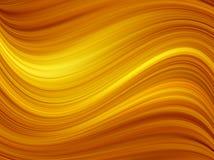 Ondes oranges Image libre de droits