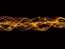 Ondes sinusoïdales des lumières Photos libres de droits