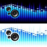 Ondes sonores Photos libres de droits