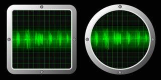 Ondes sonores Image libre de droits