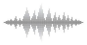 Ondes sonores Images libres de droits