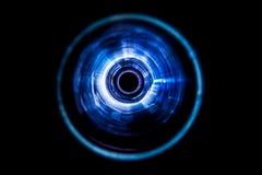 Ondes sonores dans l'obscurité Photo libre de droits