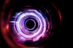 Ondes sonores dans l'obscurité Image stock