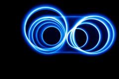 Ondes sonores dans l'obscurité Images libres de droits