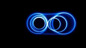 Ondes sonores dans l'obscurité Photographie stock libre de droits