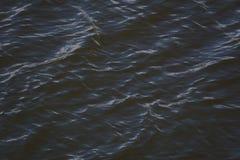 Ondes sur l'eau Photo libre de droits