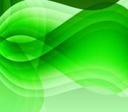Ondes vertes et lumière Photos libres de droits