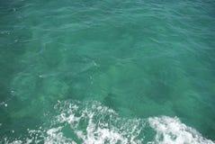 Ondiep oceaanwater Royalty-vrije Stock Fotografie