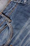 ondiepe DOF De textuur van jeans Fragment van jeansbroeken royalty-vrije stock afbeeldingen