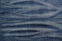 ondiepe DOF De textuur van jeans Fragment van jeansbroeken royalty-vrije stock foto