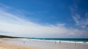 Ondiepe overzees in Nieuw Zuid-Wales Stock Foto
