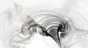 Ondinha do fumo Imagens de Stock
