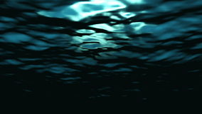 Ondinha e fluxo subaquáticos das ondas de oceano - molhe FX0313 HD video estoque