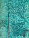 Ondinhas da água na pedra azul de turquesa Foto de Stock Royalty Free
