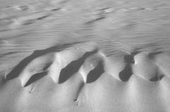 Ondinhas da areia Imagens de Stock Royalty Free