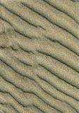 Ondinhas da areia Imagem de Stock