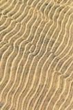 Ondinhas da areia na água pouco profunda foto de stock royalty free
