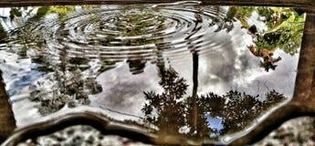 Ondinhas e reflexões Fotografia de Stock Royalty Free