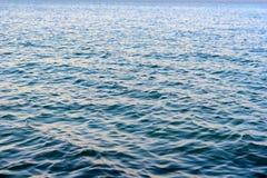 Ondinhas em um lago Foto de Stock