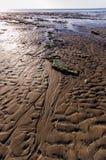 Ondinhas na areia 2 Fotografia de Stock Royalty Free