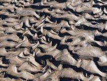 Ondinhas na areia Foto de Stock Royalty Free