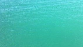 Ondinhas na superfície do mar video estoque